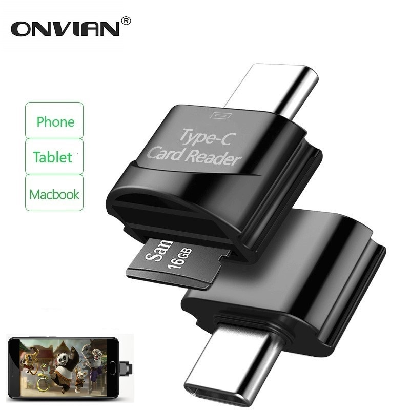 AliExpress - Onvian Card Reader USB 3.0 SD/Micro SD TF OTG Smart Memory Card Reader Type C USB-C Adapter for Huawei Samsung Xiaomi PC MacbooK