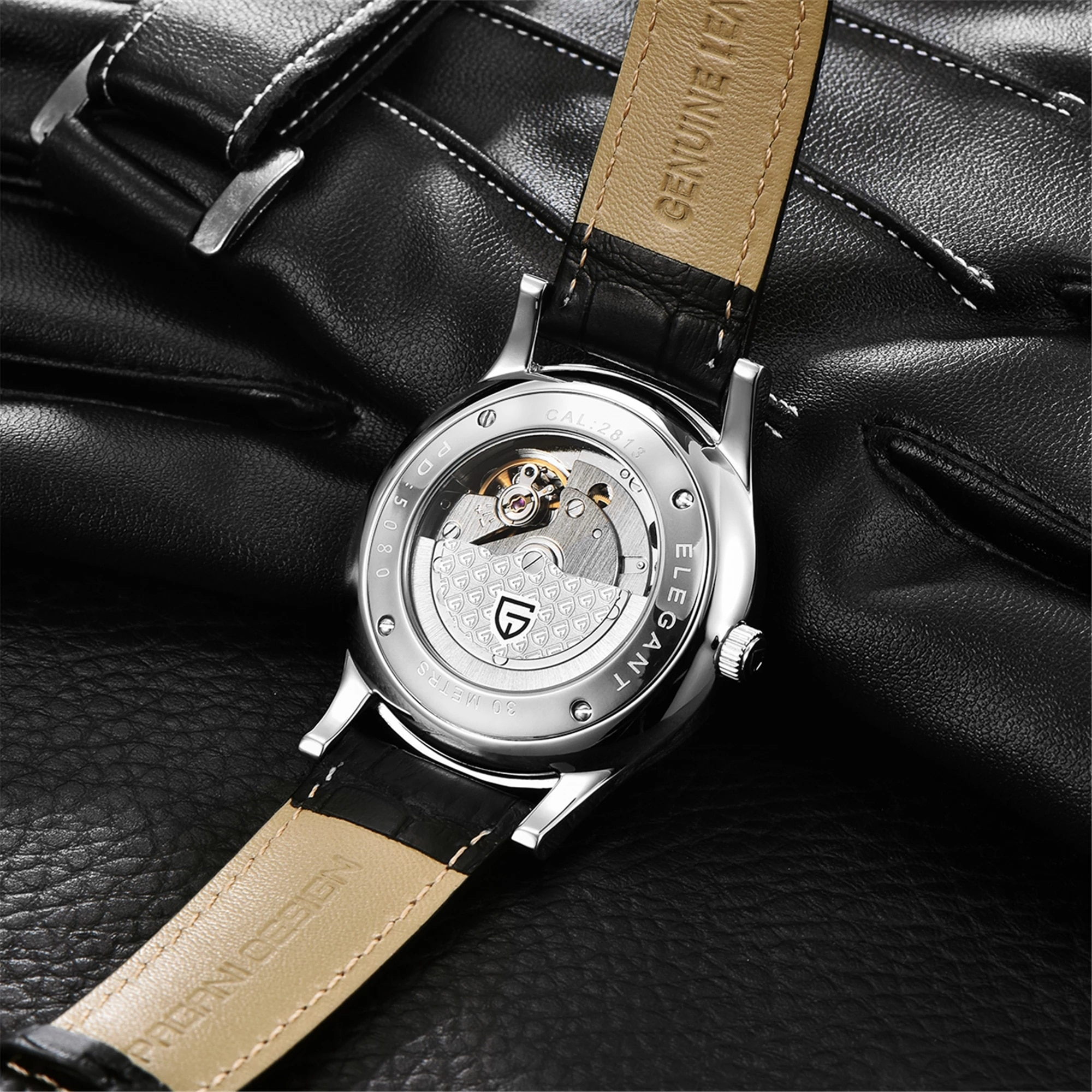 2021 New Pagani Design Top Brand Fashion Sports And Leisure Waterproof Sapphire Stainless Steel Glass Watch Mechanical Watch enlarge