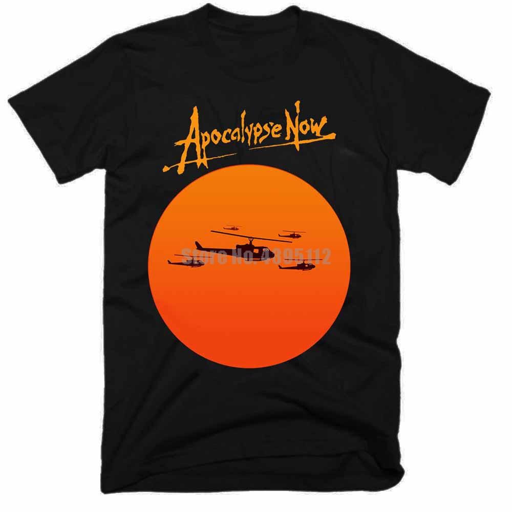 Apocalipsis ahora película hombre Rock camiseta Ak-47 camiseta anarquía camiseta tiro con arco camisetas las fuerzas aerotransportadas Tqyivz
