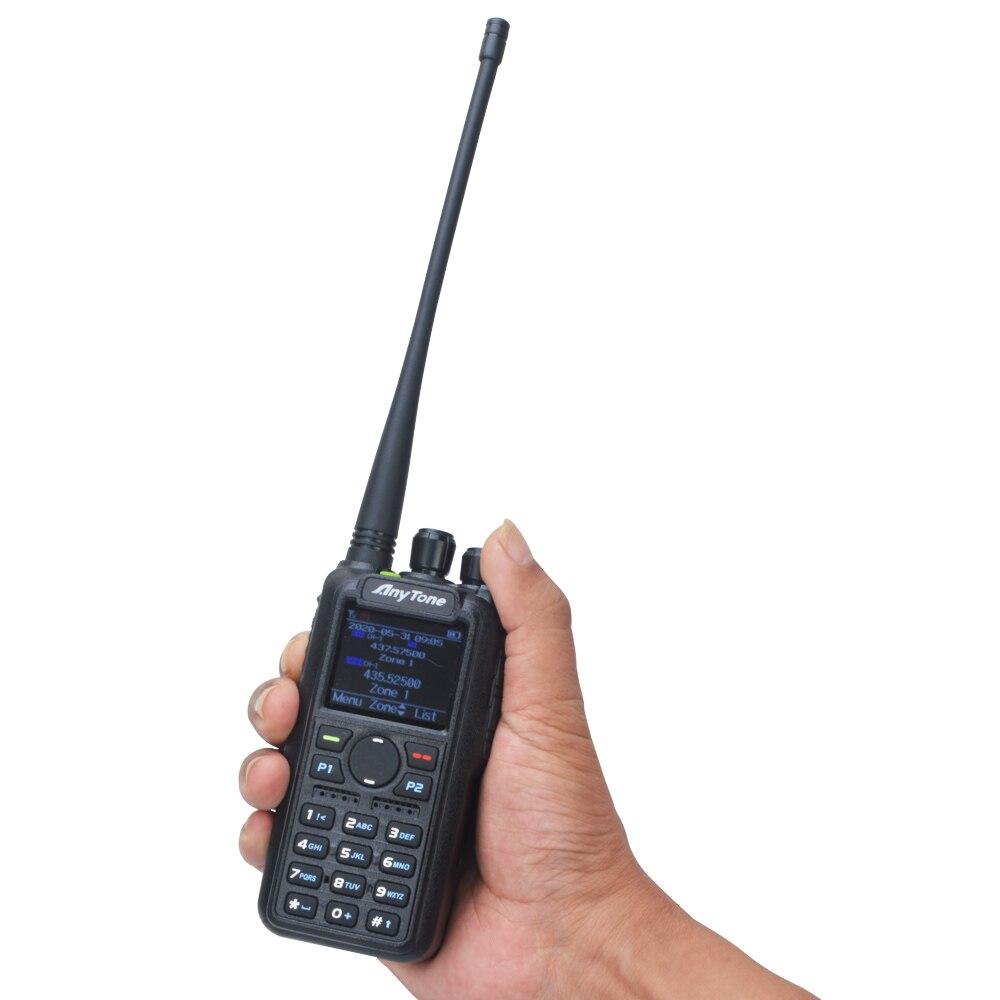 AT-D878UVII Plus Anytone Ham Walkie Talkie Bluetooth PTT GPS APRS Dual Band VHF/UHF Digitial DMR Analog Portable Two Way Radio enlarge