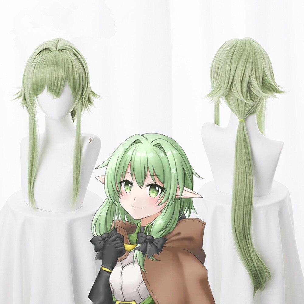 Anime Goblin Assassino High Elf Archer Yousei Yunde Longa Peruca Traje Cosplay Mulheres Perucas de Cabelo Sintético Resistente Ao Calor