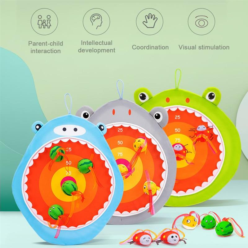 Фото - Creative Dart Board Toys Kids Toss Animal Educational toys Indoor Interactive Game Montessori Home Party Game for Kids 2021 novelty kids bean bag toss game toys outdoor dart board game game toy set fun parent child interaction educational game