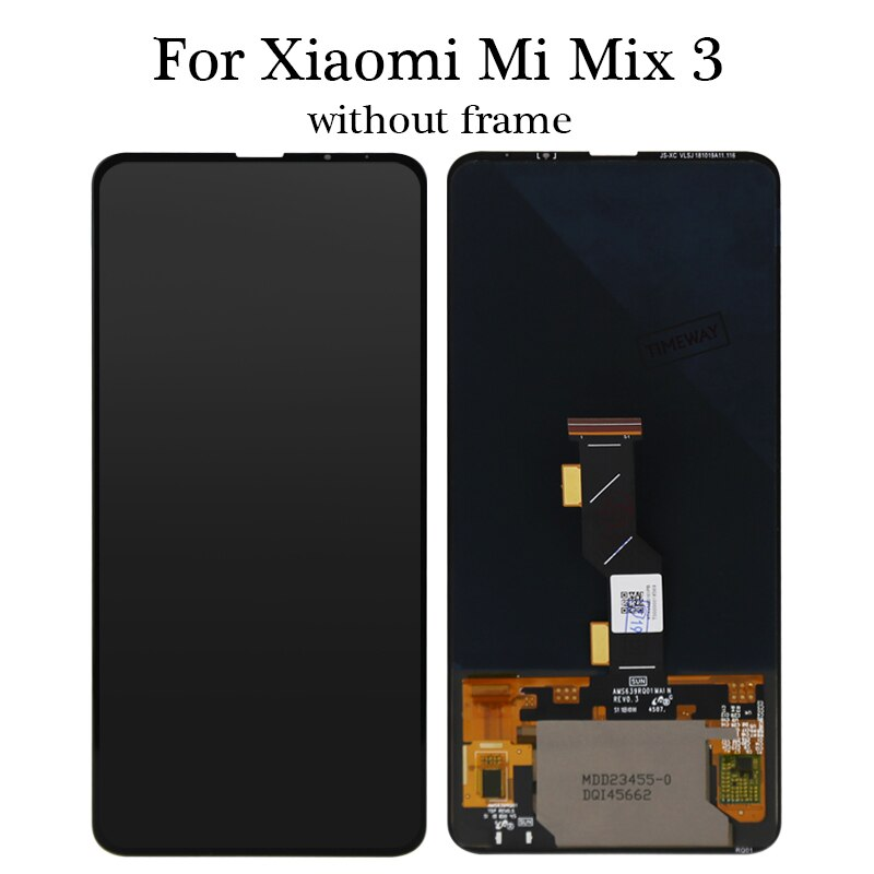 For Mi MiX 3 lcd display OEM+Highcopy quality No dead pixel for Mi MiX 3 Touch Screen Digitizer replacement assembly with gift enlarge