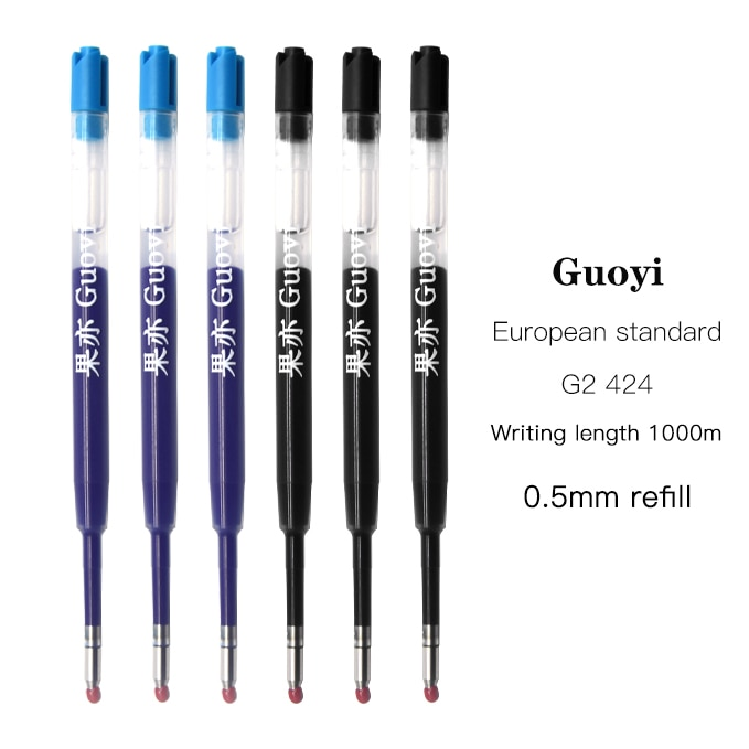 CCCAGYA K066 Gel pen refill  Learn Office stationery school writing 424 G2 Ballpoint & hotel business accessories