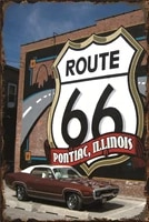 gas station home decoration accessories route 66 restaurant gamer plates decorations for room decor for kitchen garage man cave