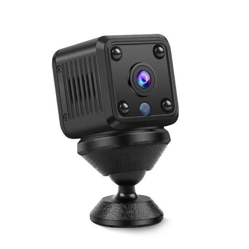 Mini cámara IP de seguridad para el hogar, videocámara DVR con WiFi,...