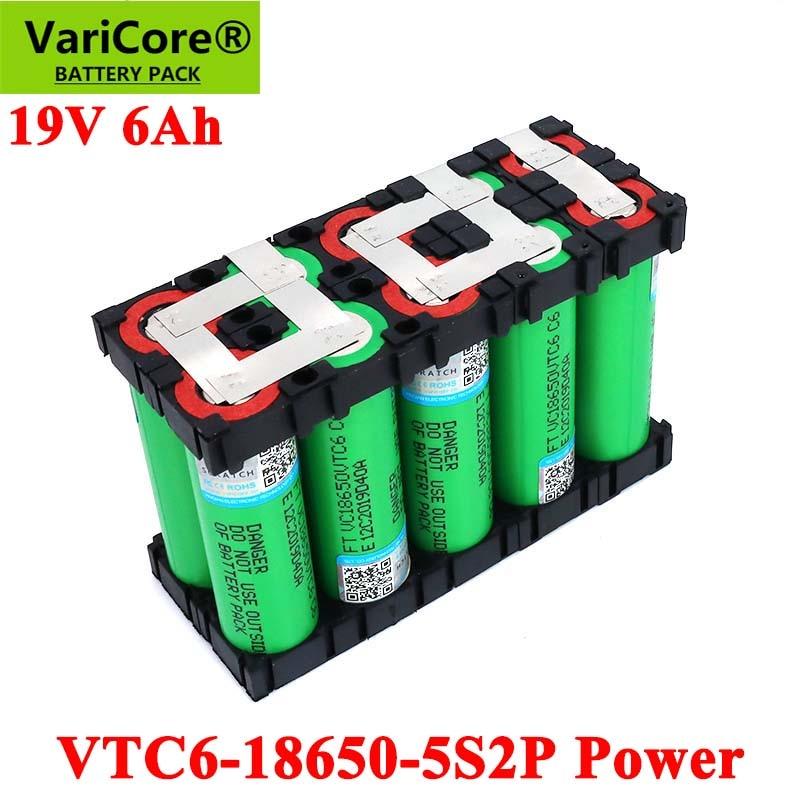 21v para Baterias de Chave de Fenda Alta Potência 20 Ampères Solda Suporte Bateria 19v 5s2p 18650 Vtc6 6000mah