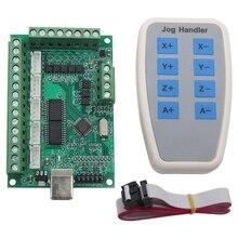 ABSF 5 axes Mach3 CNC carte de rupture 1000Khz Usb CNC Machine de gravure de carte de contrôle de mouvement