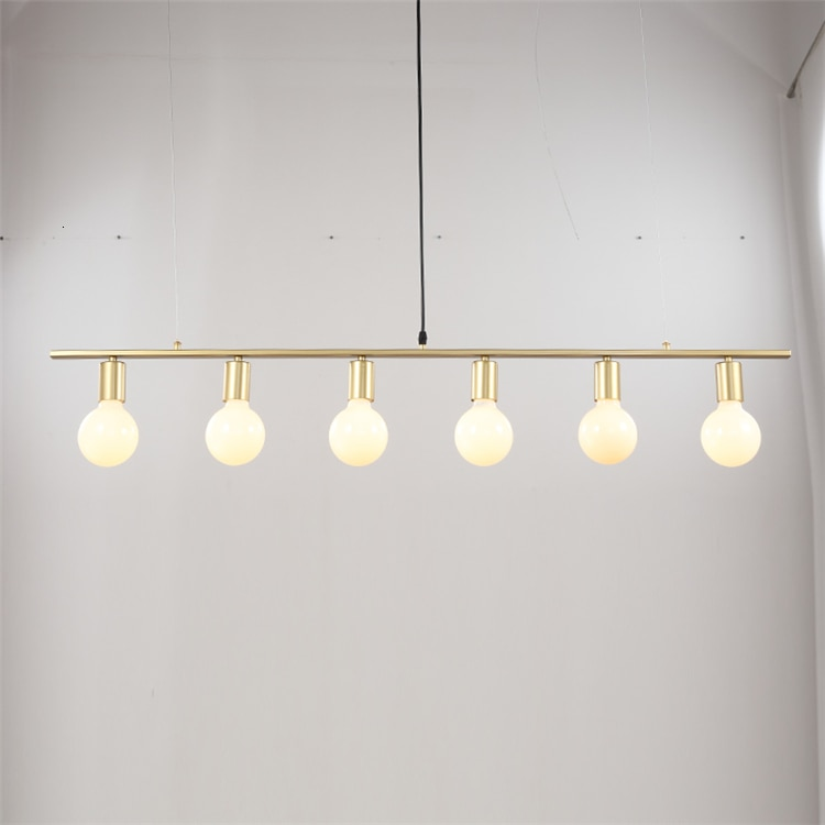 مصباح معلق من المعدن الأبيض ، الديكور الداخلي ، الإضاءة ، الثريا ، للفيلا ، المطبخ ، البار ، جديد