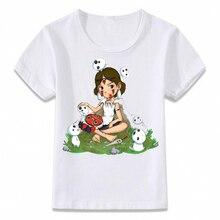 Kids Kleding T-shirt Prinses Mononoke En Bos Geest T-shirt Voor Jongens En Meisjes Peuter Shirts Tee