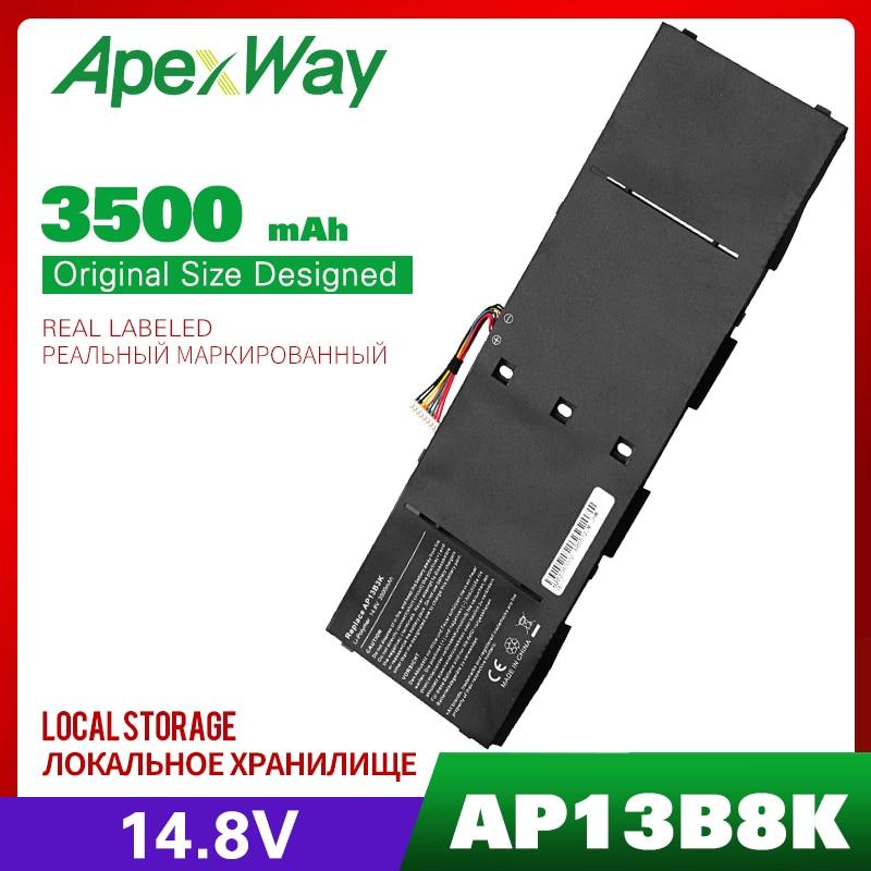 14,8 V Apexway ноутбук Батарея AP13B3K AP13B8K для acer Aspire V5 R7 V5-572G V5-573G V5-472G V5-473G V5-552G M5-583P V5-572P