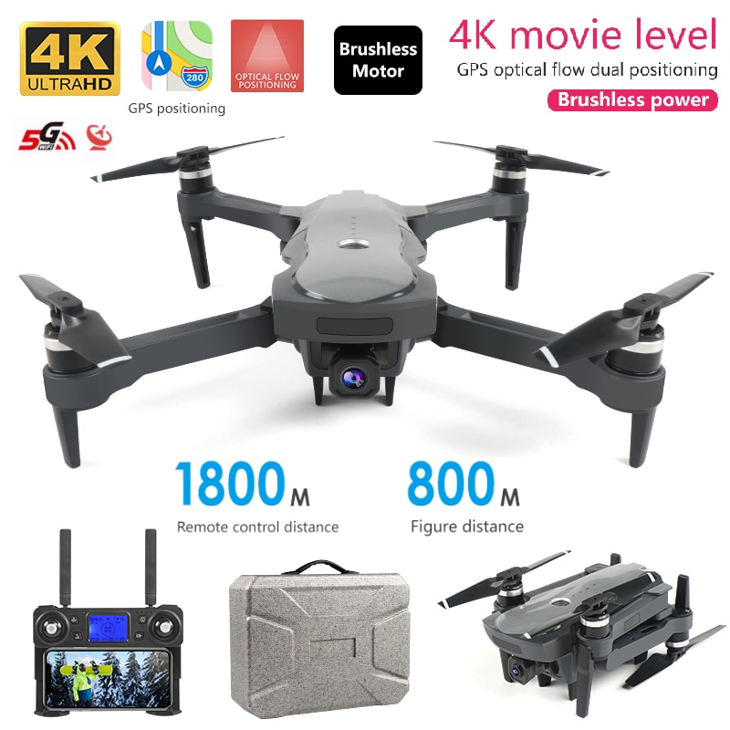 K20 drone 4k profesional HD camera gps brushless motor high speed rc plane 25minutes life 5G optical flow positioning quadcopter