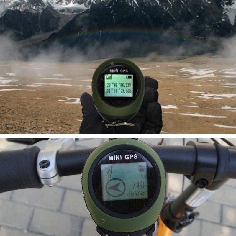 Mini GPS Navigation Receiver Tracker Logger USB Rechargeable Handheld Location Finder Tracking For Traveler Compass enlarge