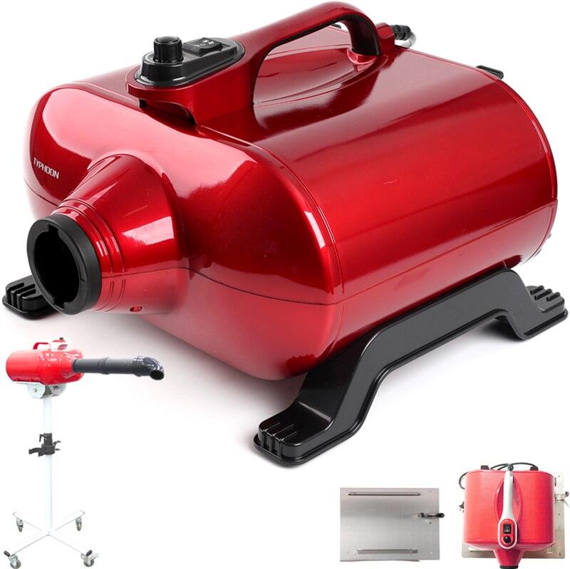 Secador de pelo profesional de doble Motor para mascotas 3000W soplador de aseo para perros y gatos de soporte para colocar