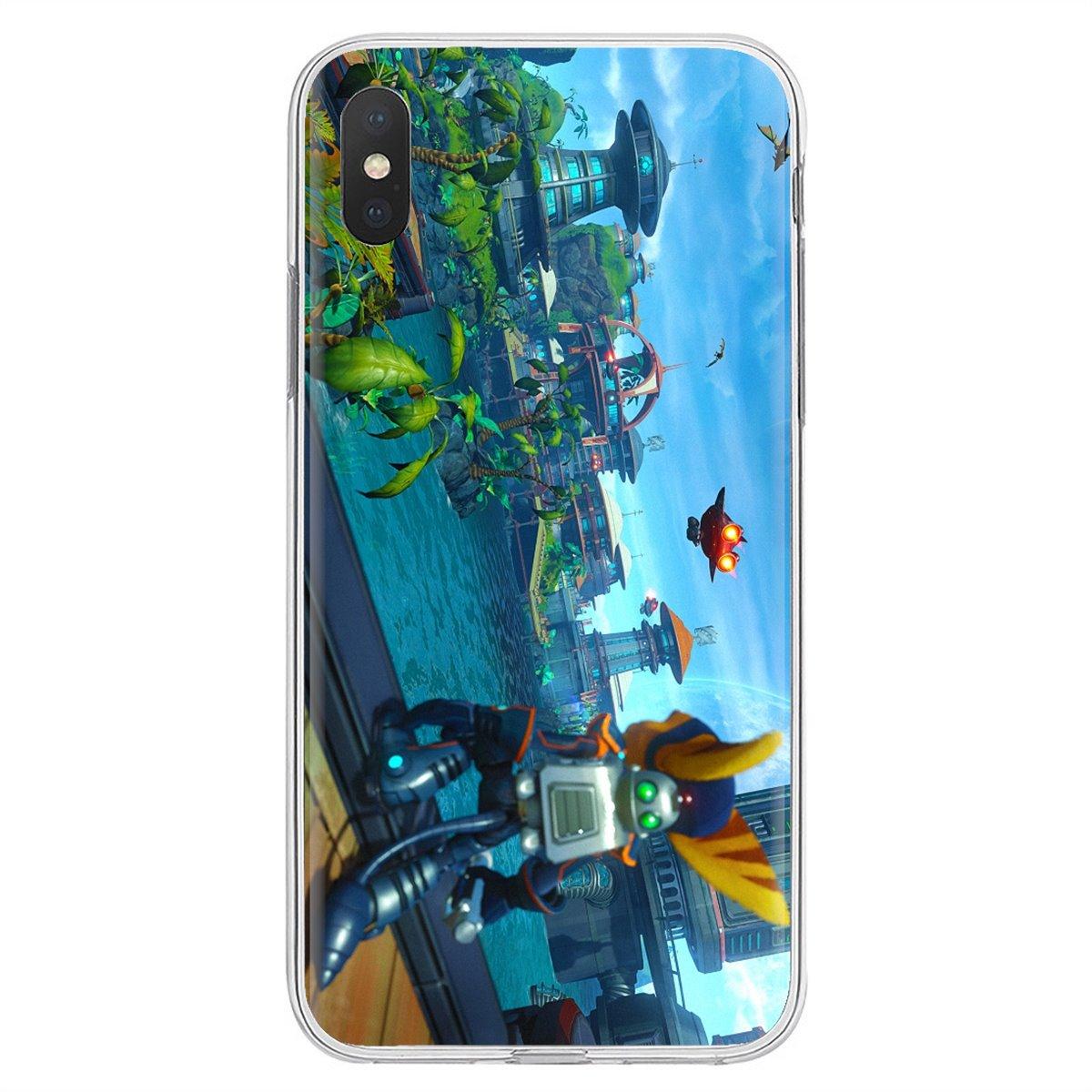 Trinquete y Clank Insomniac juegos arte para Xiaomi mi A1 A2 A3 5X6X8 9 9t Lite SE Pro mi Max MIX 1 2 3 2S vender funda de silicona para teléfono