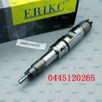 ERIKC 0 445 120 265 CRIN מסילה משותפת דיזל מזרק 0445120265 / 0445 120 265 לweichai 612630090028 ו 00986AD1016