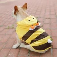 dog raincoat french bulldog clothes pug clothing waterproof jacket outfit welsh corgi shiba inu costume dropshipping