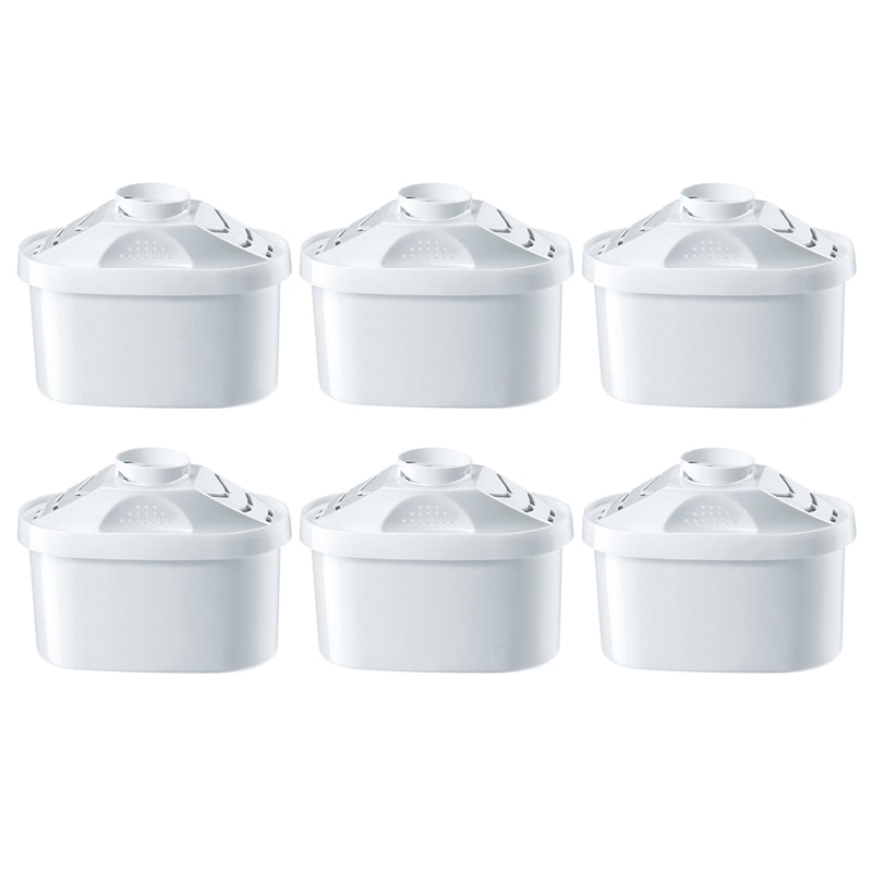 6Pcs/Set Filters Replacement for Water Pitcher Household Purify Kettle Direct Drinking Activated Carbon Water Filters