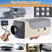 12v 5kw automobile air heater low fuel consumption car heater lcd display remote control diesel air heater for car bus truck