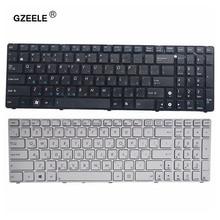 GZEELE dla ASUS G73Sw G73Jw K52D K52DR K52DY K52JK K52JR K52JT K52JU K52JV K53SV K53SC RU rosyjski układ klawiatury laptopa wymienić