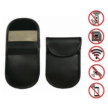 1Pcs Car key Bag Car Fob Signal Blocker Faraday Bag Signal Blocking Bag Shielding Pouch Wallet Case