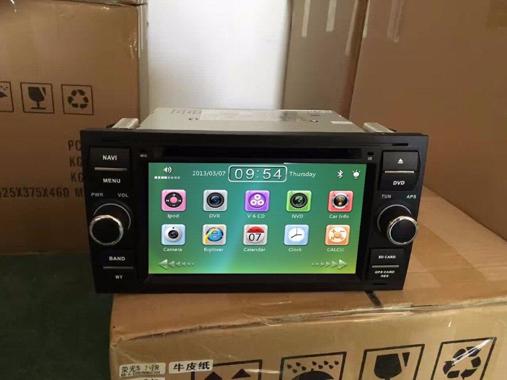 ¡Precio de fábrica! Con reproductor de DVD y radio para coche para Ford Focus c-max s-max con sistema de estéreo para tv de Radio y navegación GPS