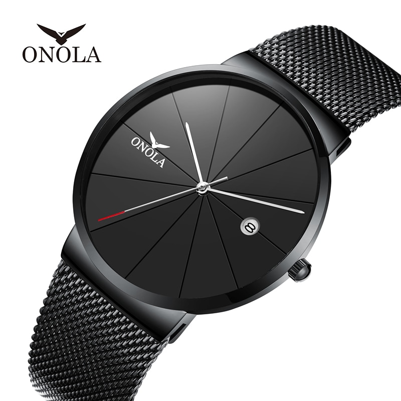 Simple Watch Men Quartz Clock Fashion Sports Stainless Steel Business Watches Relogio Masculino Luxury Brand Men Wristwatch men s watch luxury business stainless steel band quartz watch men white dial calendar fashion clock wristwatch relogio masculino