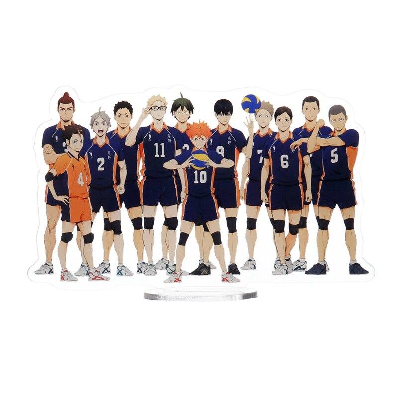Anime Figuras de Ação Voleibol Shoyo Hinata Toru Oikawa Kozume Kenma Haikyuu Kageyama Tobio Estatueta Brinquedos Modelo