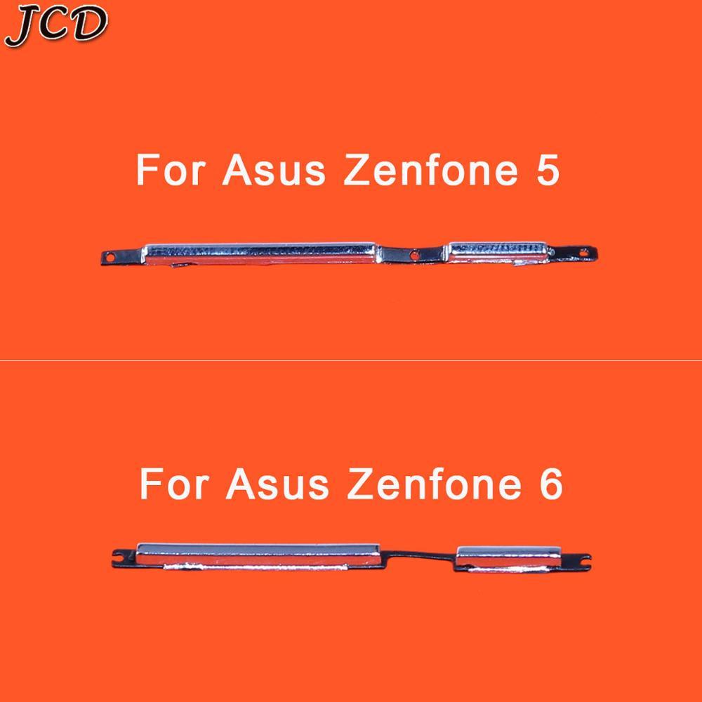 JCD para Zenfone5 Zenfone6 botón de encendido botón de volumen tecla lateral para Asus Zenfone 5 T00J T00F/Zenfone 6 T00G pieza de repuesto