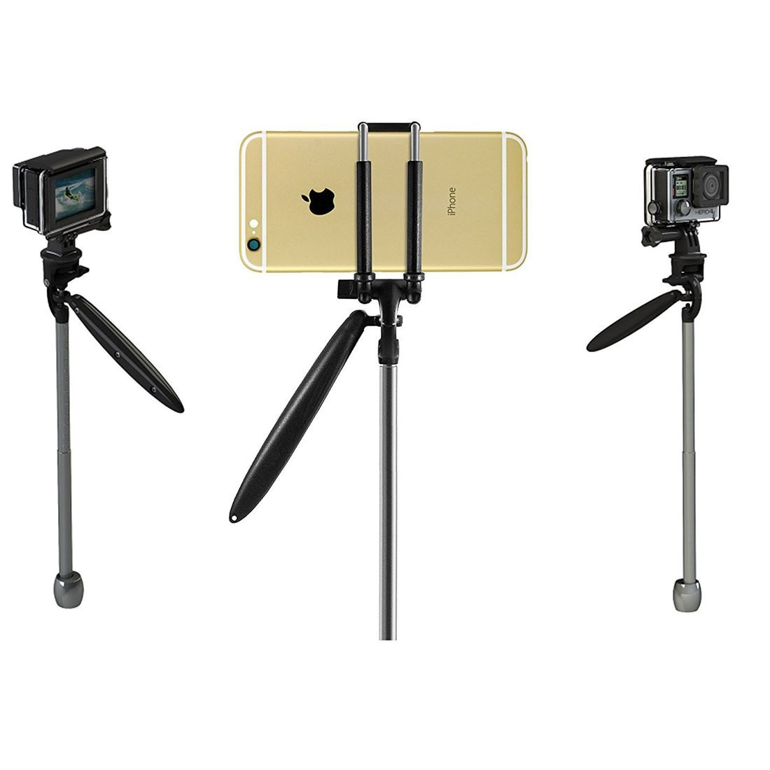 Mini Hold Cloud Platform Shoot Stable Organ General Purpose For Gopro Go Pro Action Camera Accessories Parts Phone