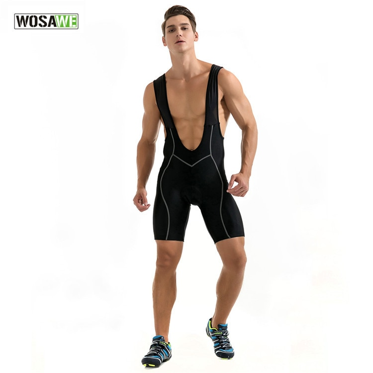 WOSAWE Cycling Motorcycle Bib Shorts Underwear Downhill MTB Shorts Bike Road Shorts Breathable 3D Padded Riding Bicycle Shorts enlarge
