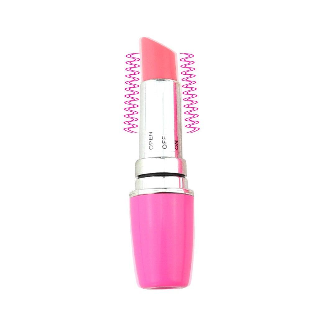 Mini Lipstick Vibrator Vaginal Massage Dildos Sex Toys For Woman AV Stick sex Product Small Bullet V