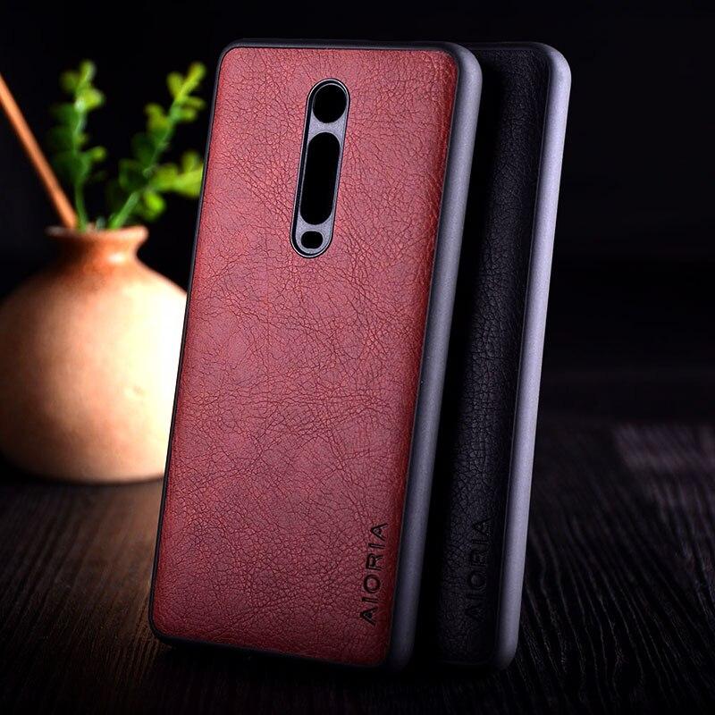 Чехол для Xiaomi Mi 9t redmi K20 pro, роскошный винтажный кожаный чехол из ТПУ + ПК для телефона xiaomi mi 9t mi9t