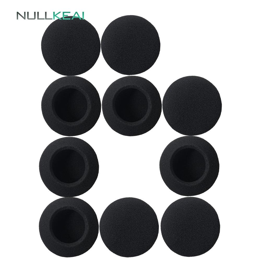 Nullkeai peças de reposição earpads para panasonic RP-HT010 fones earmuff capa coxim copos