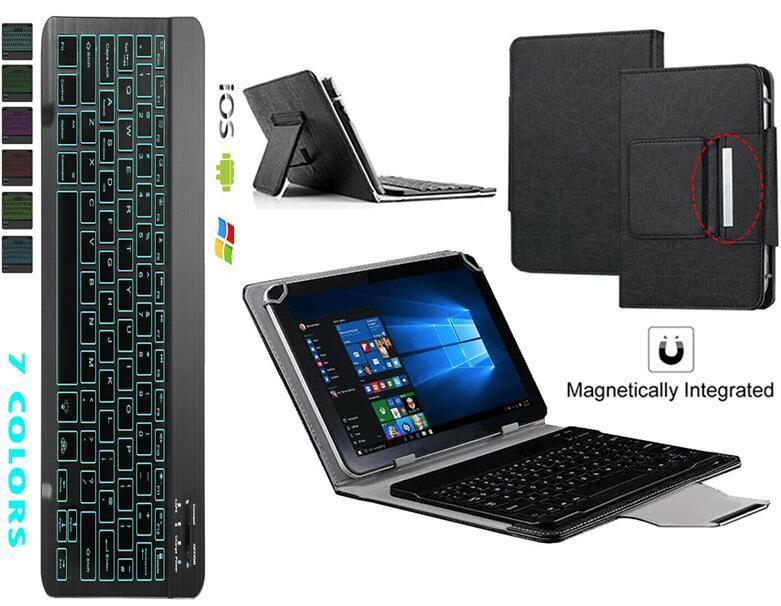 Caso de teclado retroiluminado para samsung galaxy tab a6 10.1 2016 capa t580 t585 SM-T580 SM-T585 tablet bluetooth teclado + caneta