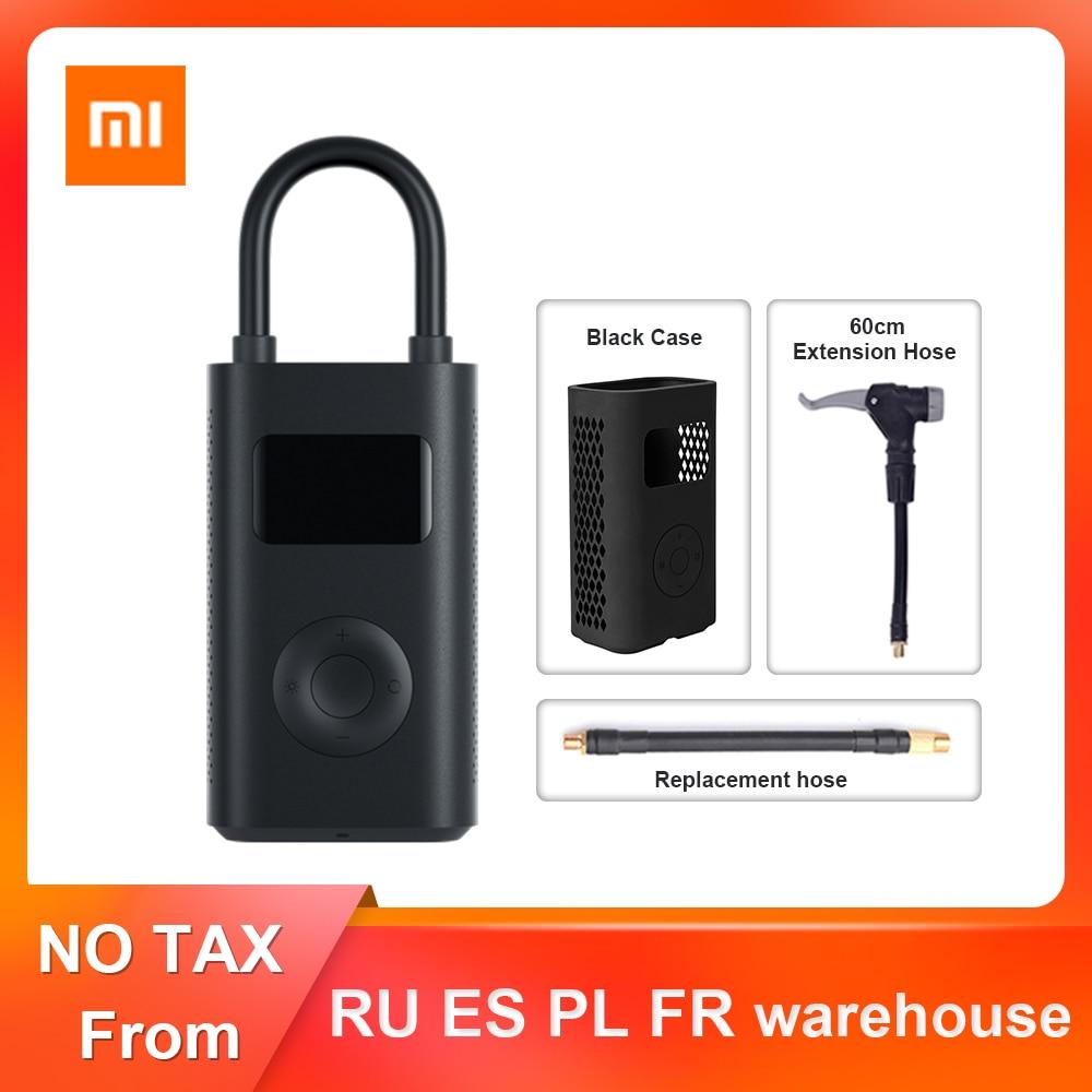 Original Xiaomi Mijia Inflator Portable Mini Smart Digital Tire Pressure Sensor Electric Pump For Bi