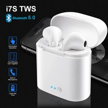 AirPods i7s tws Pro auriculares Bluetooth auriculares inalámbricos 9D auriculares estéreo en la oreja auriculares deportivos para iPhone Xiaomi Android