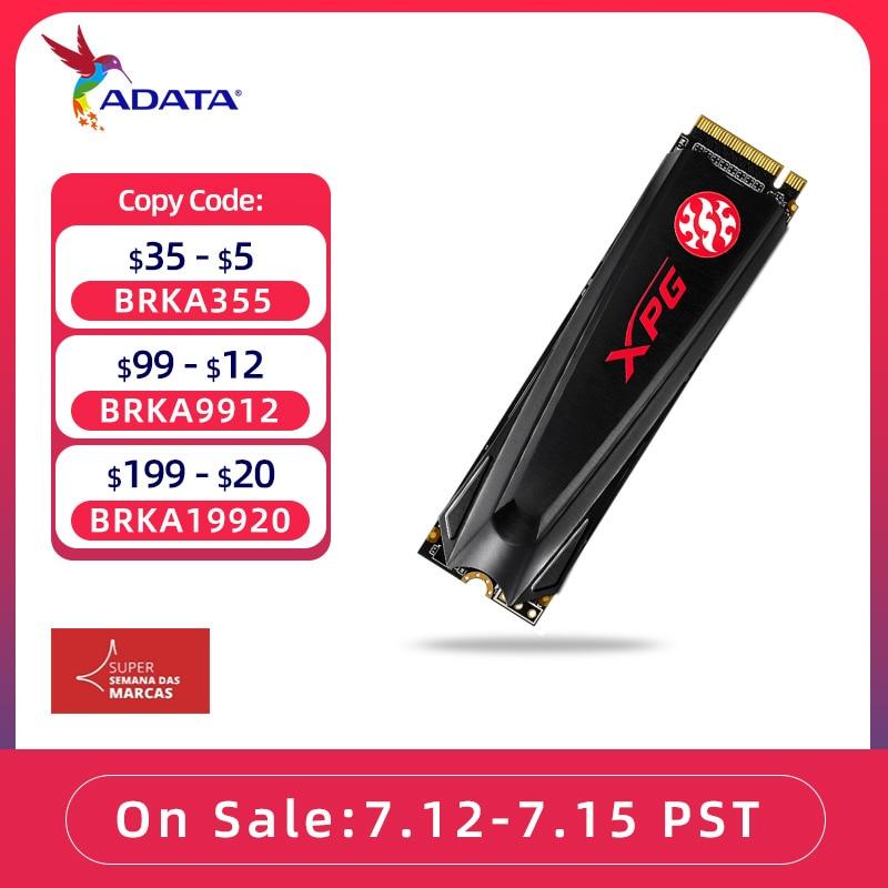 ADATA XPG GAMMIX S11 Lite PCIe Gen3x4 M.2 2280 ssd 256 512 1TB For Laptop Desktop Internal hard drive 4 times faster than SATA