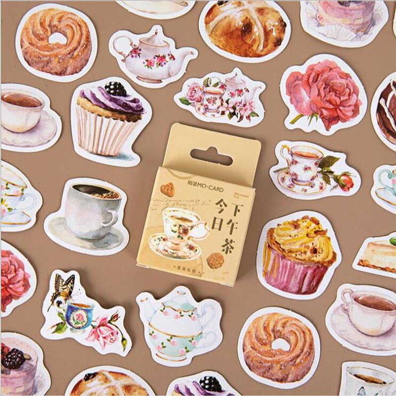 45Pc Cute Plant Stationery Stickers food Drink Stickers Paper Adhesive sticker For Kids DIY diary scrapbook Photos Albums custom kawaii rosyposy life series cute sticker custom stickers diary stationary flakes scrapbook diy decorative stickers