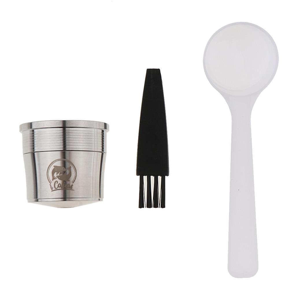 كبسولة قهوة من الفولاذ المقاوم للصدأ ، ملحق K-Cup لماكينة إيلي إسبرسو