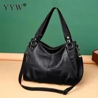 vintage cool handbag textured leather big hand bags for women trends female literary single shoulder bag top handle bag mochila