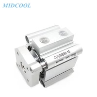air cylinder pneumatic compact cylinder guide rod type cqm cdqm cqmb12 cdqmb12 storke 5 10 15 20 25 30mm