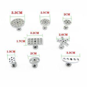 Image 4 - 8 размеров с 8 шт. Авто PDR набор инструментов алюминиевый клей Съемник вкладки для автомобиля вмятин ремонт без покраски удаление вмятин ручные инструменты