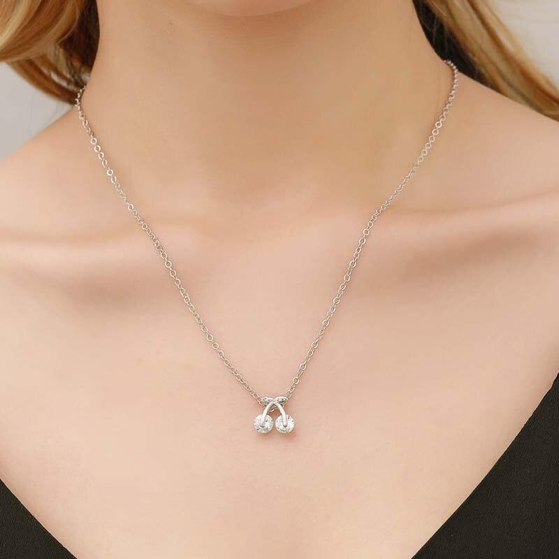 Mode Kristall Herz Anhänger Kette Halskette Für Frauen Kurze Ketten Kragen Halskette Schmuck Für Mädchen Partei