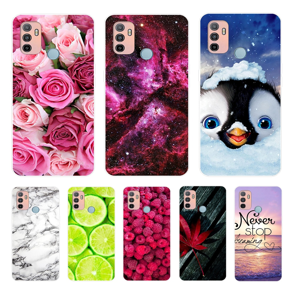 For OPPO A53 Case Phone Cover Silicone Soft TPU Case for OPPO A53S A32 Case Bumper Fashion For OPPOA