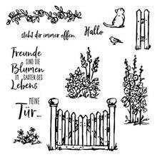 Jardin allemand matrices de découpe et timbres 2020 nouveaux pochoirs matrices Scrapbooking Album de bricolage papier cartes Art artisanat décoration