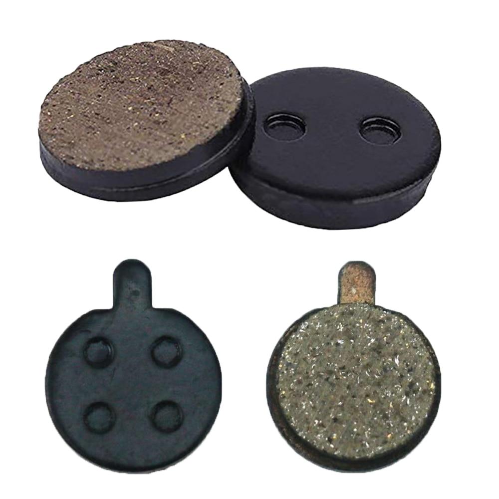 Plaquettes de frein de roue arrière pour Xiaomi Mijia M365 PRO,pièce détachée pour trottinette électrique, système de freinage à plaques de Friction, 2 pièces,