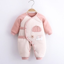 Baby Clothes One-piece Suit Autumn and Winter Baby Winter Jacket Cotton Warm Clothes Newborn Baby