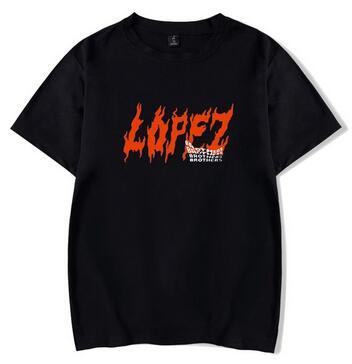 2020 nuevo Tony Lopez Brothers Merch 2D imprimir camiseta mujeres/hombres ropa gran oferta Tops Camiseta de manga corta