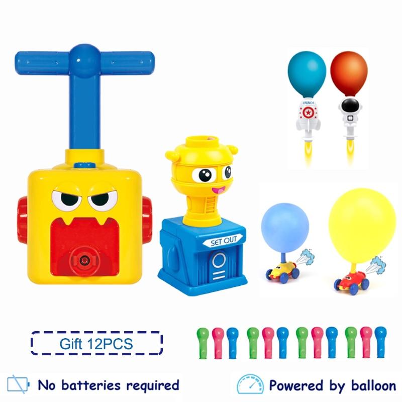 Новый Мощность автомобиль детские игрушки монтессори игрушка веселые развивающие игрушки для экспериментов развивающие инерционная Стар...